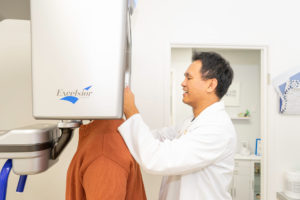 Dr Chiu 3d scanning-patient