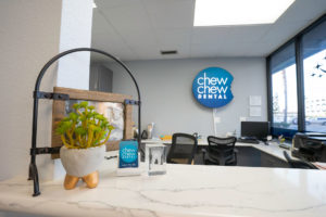 Chew Chew Dental's Reception Counter